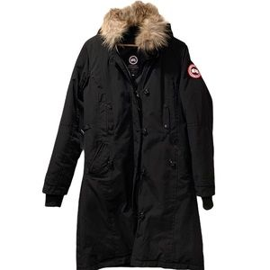 Canada Goose Down Coat Fur Hood Trim M